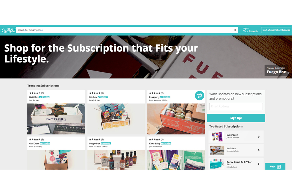 Cratejoy's new subscription box marketplace
