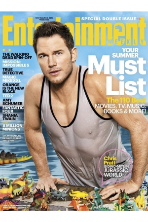 The Entertainment Weekly cover for May 29/June 5, 2015.