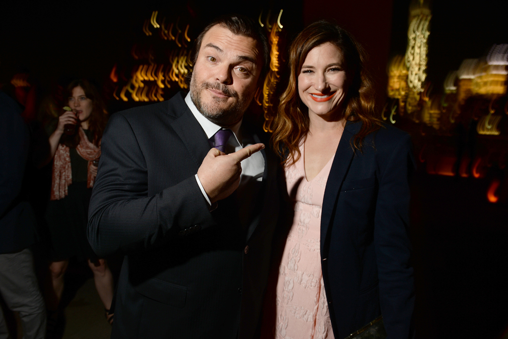 """Jack Black and Kathryn Hahn, """"The D Train"""" Premieres in New York"""