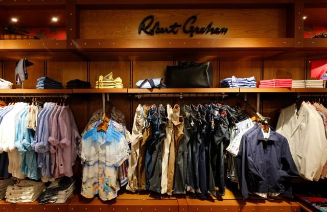 A Robert Graham shop.