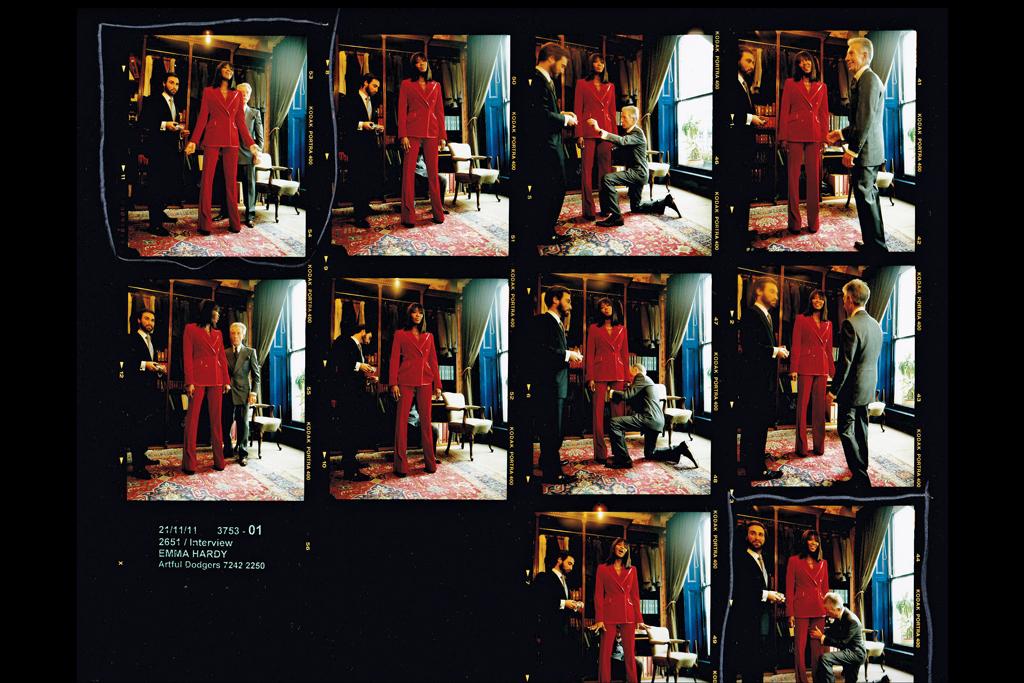 """Savile Row Bespoke and America"" exhibition."