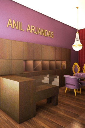 Rendering of the Anil Arjandas West Hollywood store.