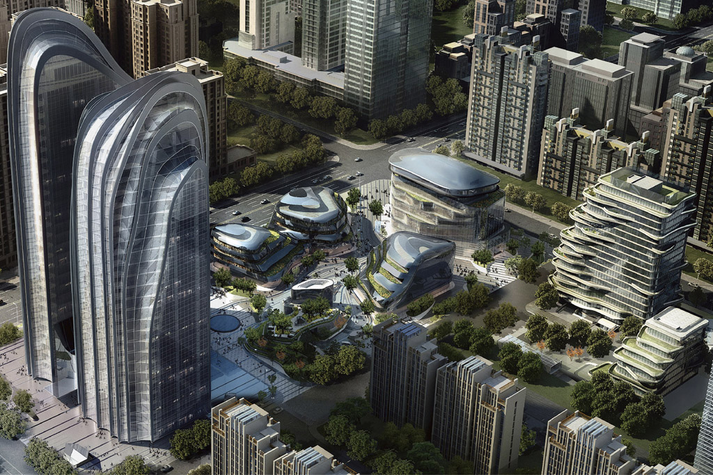 The Armani/Casa project in Beijing.