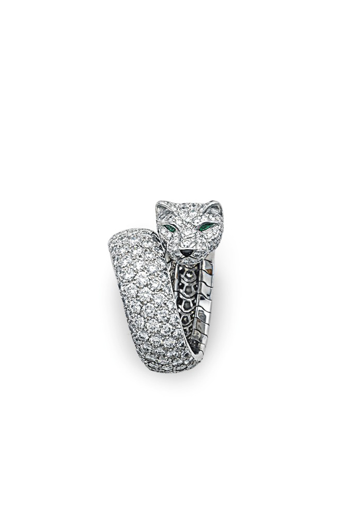 Cartier Panthere ring at Christie's New York Important Jewels
