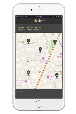 Drybar app