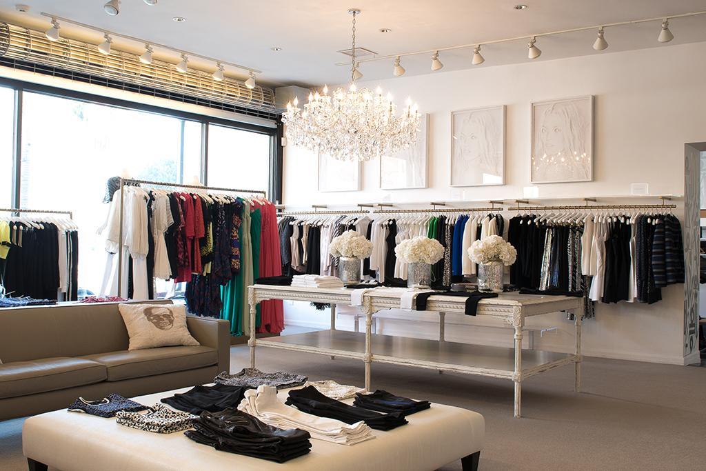 Interior of Elyse Walker store