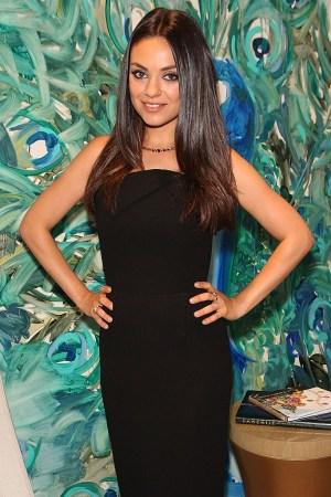 Gemfields Fabergé Mila Kunis