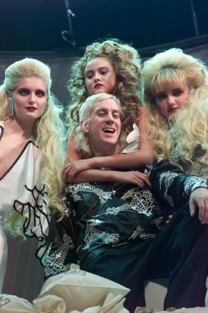 Jeremy Scott and models