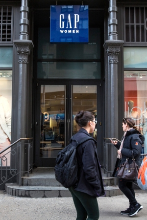 Gap store in Greenwich Village, NYC