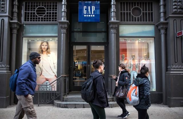 Gap store in Greenwich Village, NYC