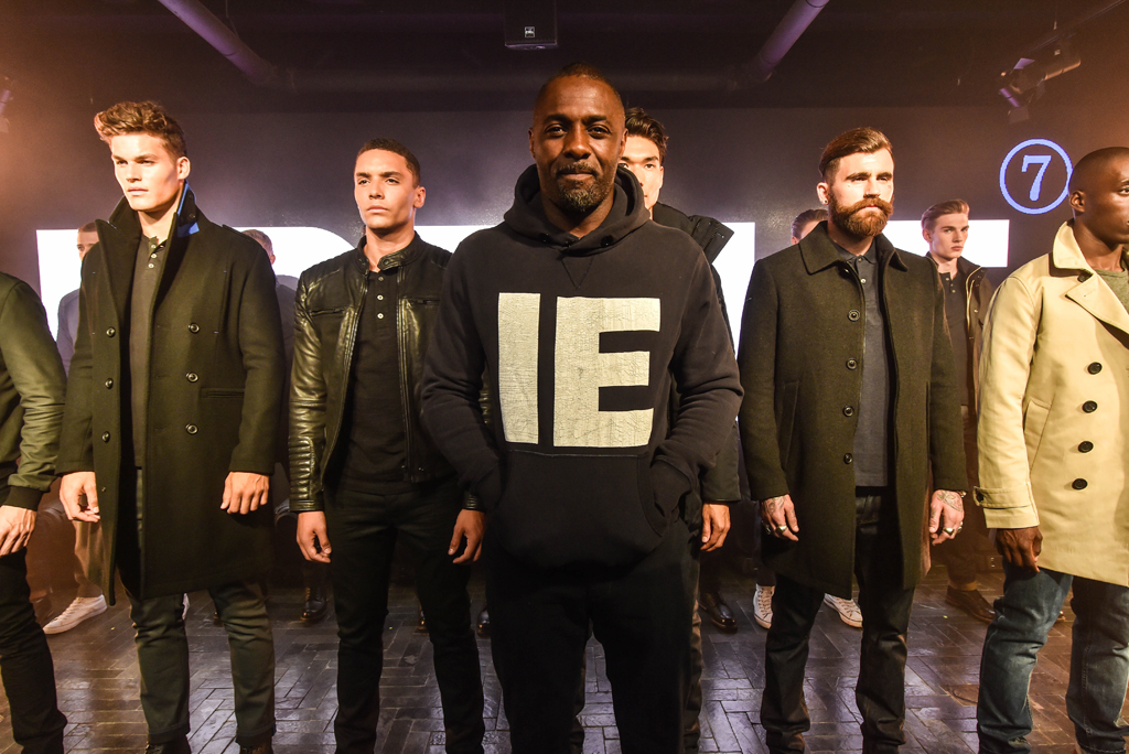 Idris Elba And Superdry Launch Collaboration