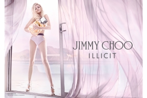 Sky Ferreira featured in Jimmy Choo's camapaign for new fragrance Illicit, shot by Steven Klein.