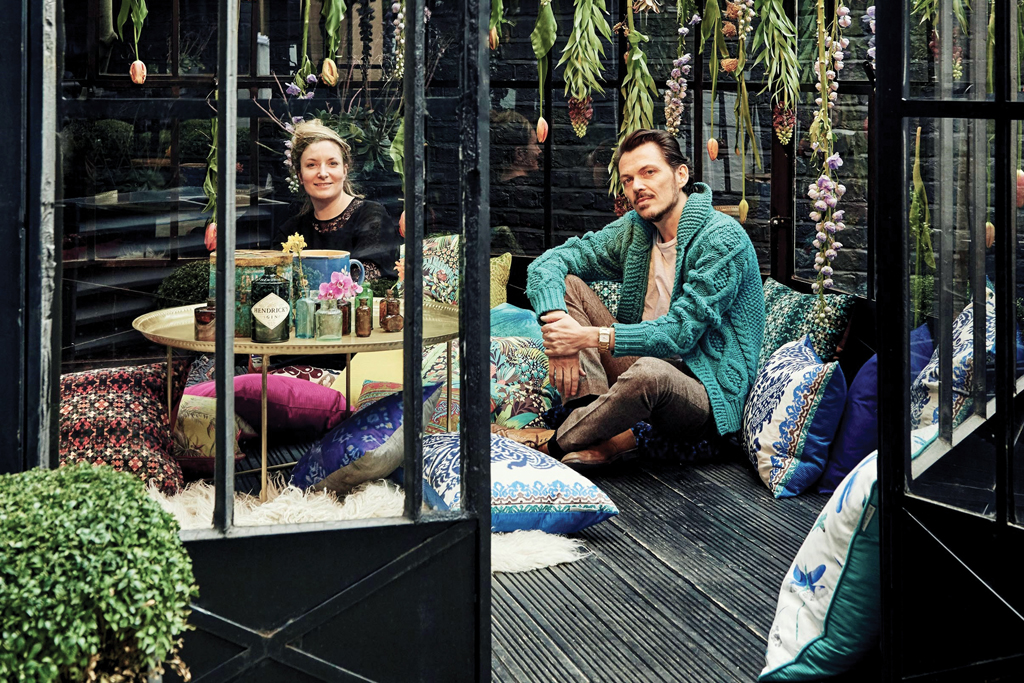 The Horticultural Oasis at the Blake Hotel Kensington designed by Matthew Williamson and Rebecca Louise Law
