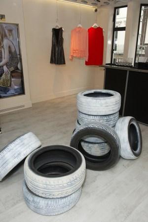 McQ x Dust Ophelia Finke Installation