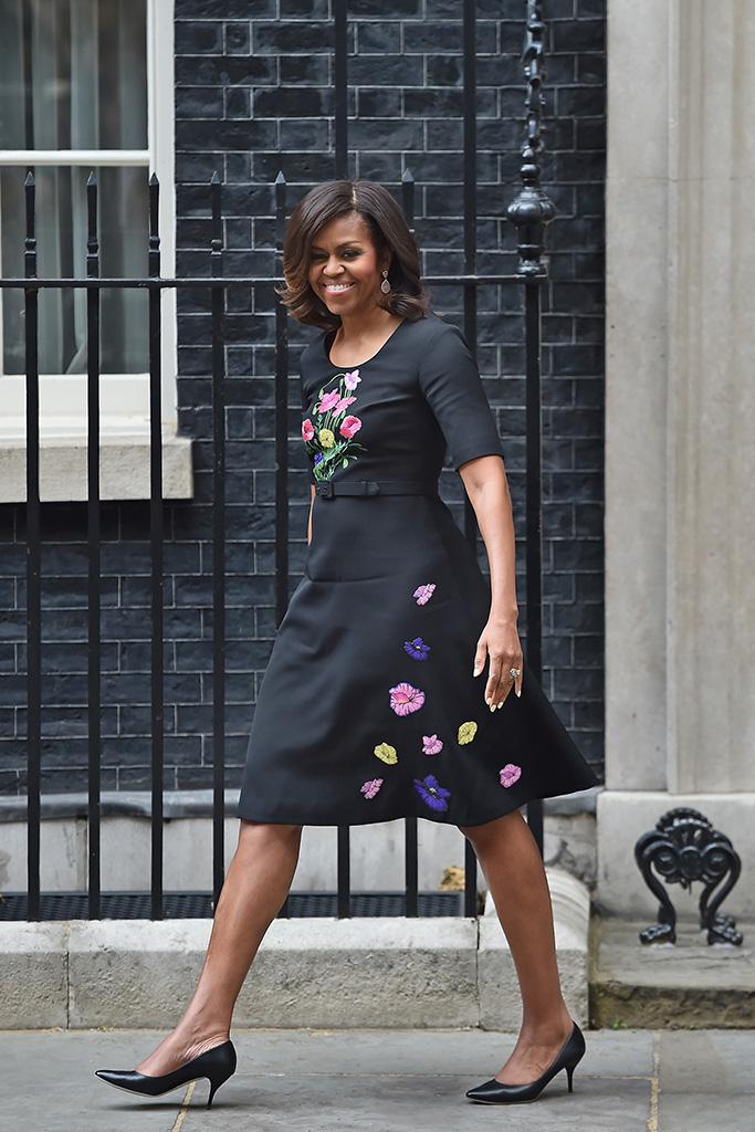 Michelle Obama in Christopher Kane