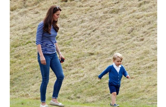 Prince George wears Crocs