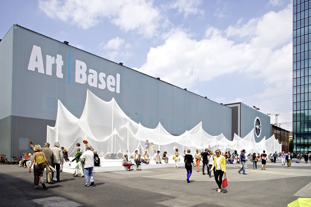 Thousands are expected to visit the stands at Art Basel in Switzerland June 18 to 21.
