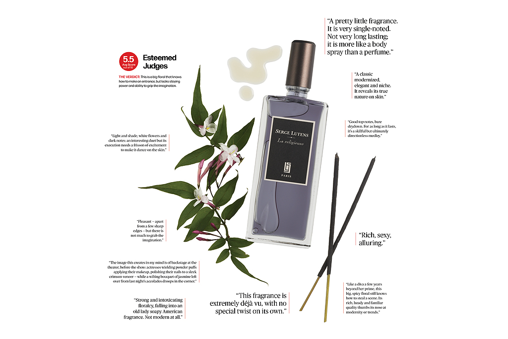The Smell Test: Serge Lutens La Religieuse