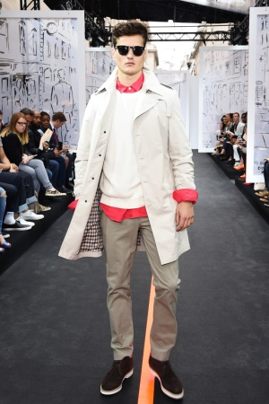 A Look From St James's Men's Spring 2016 Show