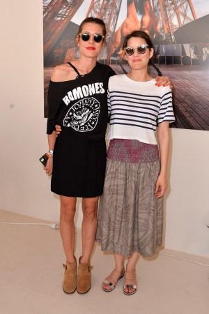 Charlotte Casiraghi and Marion Cotillard