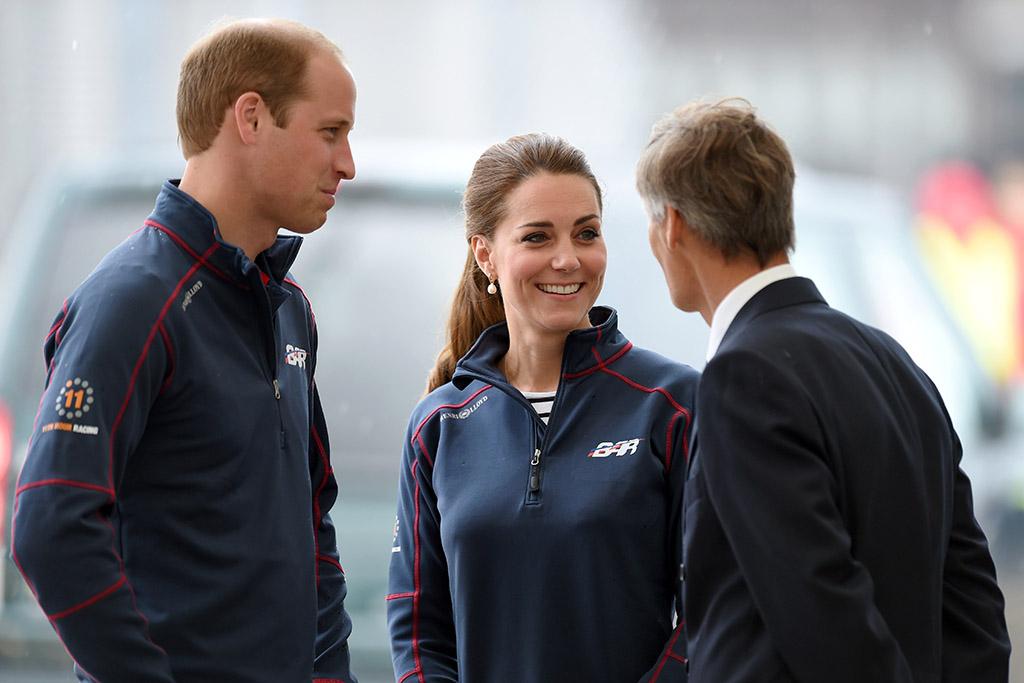 Duke and Duchess of Cambridge America's Cup World Series
