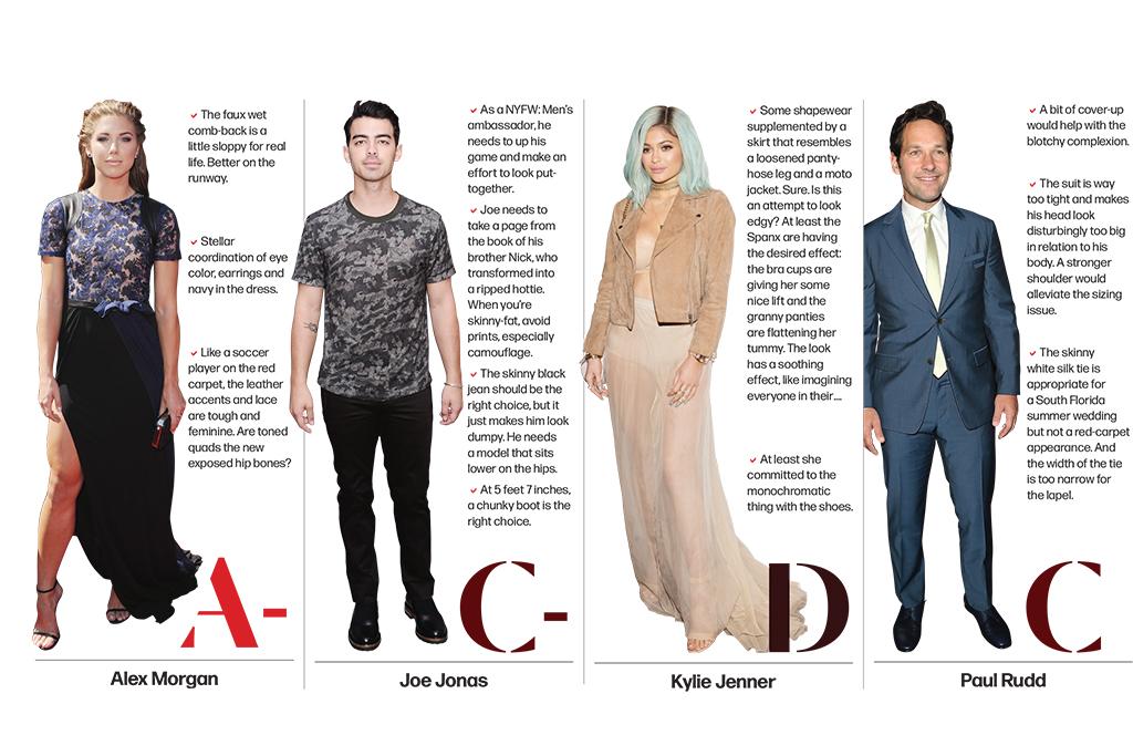 Alexa Morgan, Joe Jonas, Kylie Jenner, Paul Rudd