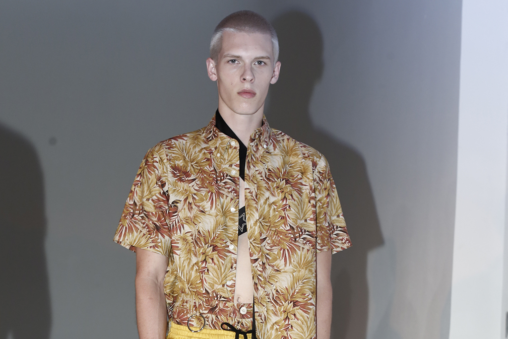 Fingers Crossed Men's RTW Spring 2016