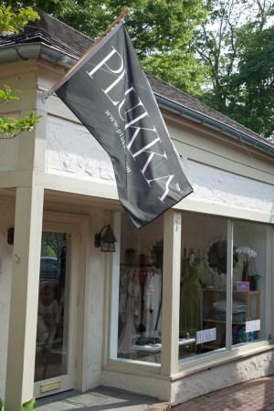 Outside Plukka's South Hampton pop up shop.