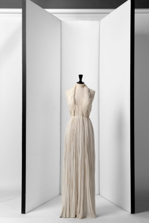 A Madame Grès dress of 1975 recently acquired by Palais Galliera