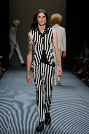 John Varvatos Men's RTW Spring 2016