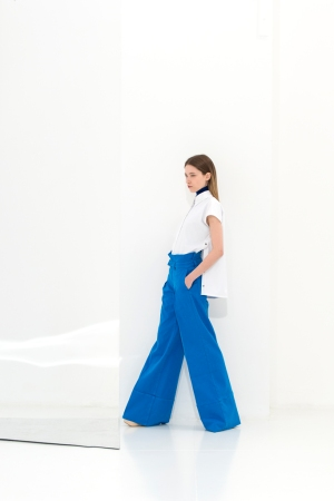 A look from Louis-Gabriel Nouchi's capsule collection for Galeries Lafayette