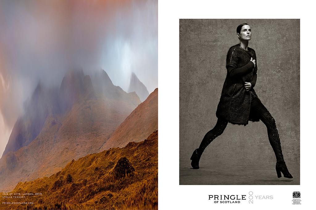 Pringle of Scotland Fall 2015 Campaign