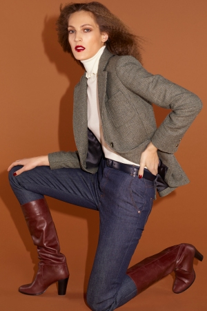 A look from Vanessa Seward's fall-winter collection