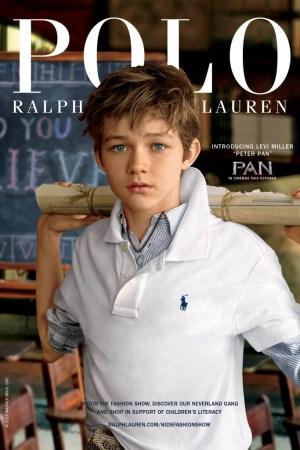 Levi Miller Named Ambassador for Polo Ralph Lauren Children's
