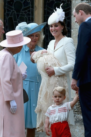 Duchess of Cambridge wears Alexander McQueen