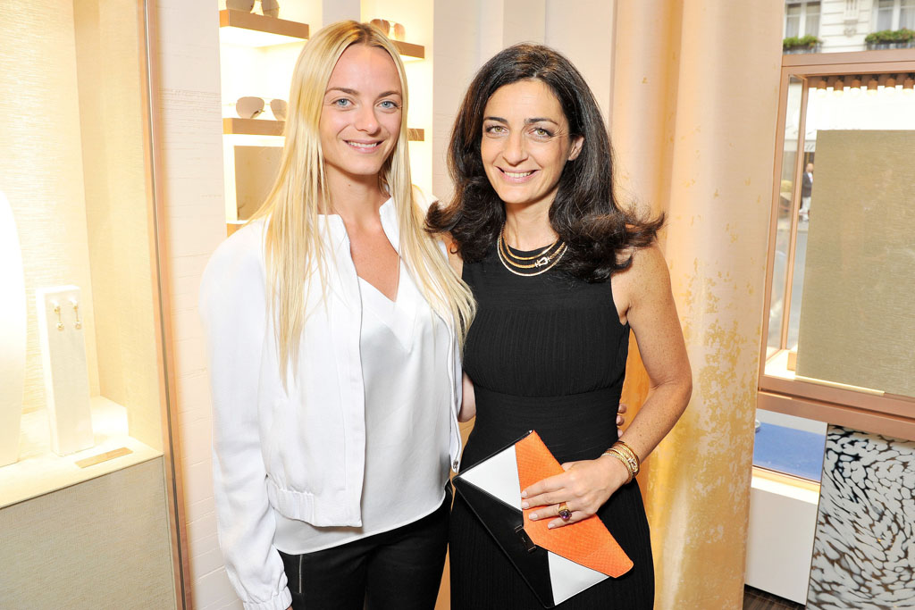 Virginie Courtin-Clarins and Rachel Marouani