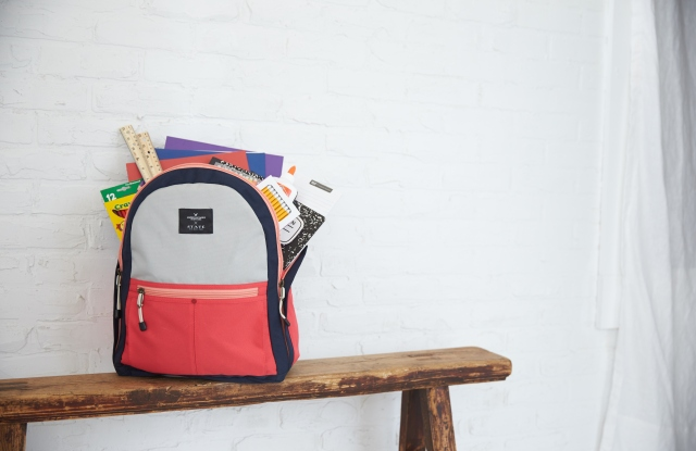Just in time for back-to- school, American Eagle Outfitters Inc. has partnered with State Bags on a pro- gram that will donate 20,000 new backpacks to students in need in 20 communities around the U.S.