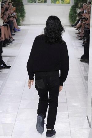 Alexander Wang exits the Balenciaga runway