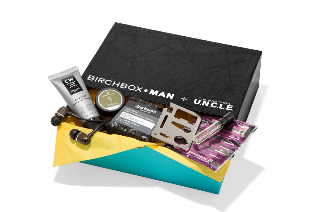 Birchbox Man + The Man from U.N.C.L.E.