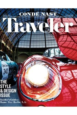 Condé Nast Traveler cover