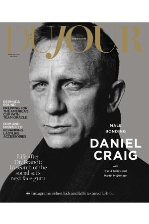 Daniel Craig on DuJour's Fall Cover