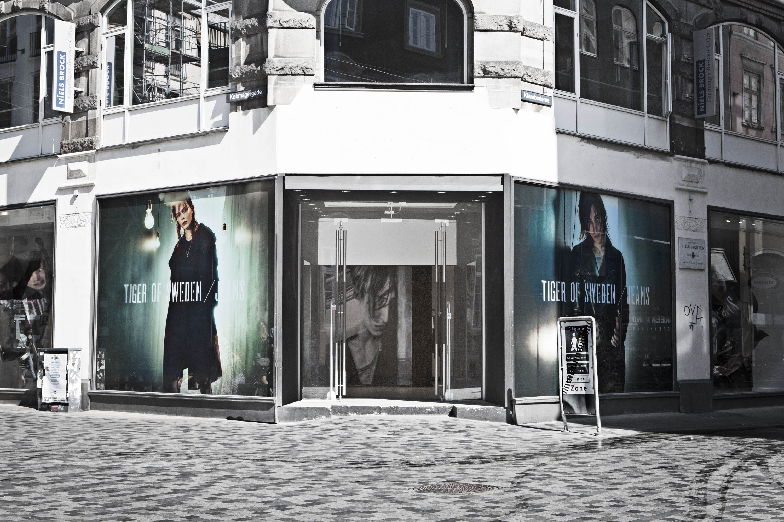 A rendering of Tiger of Sweden Jeans' store in Copenhagen