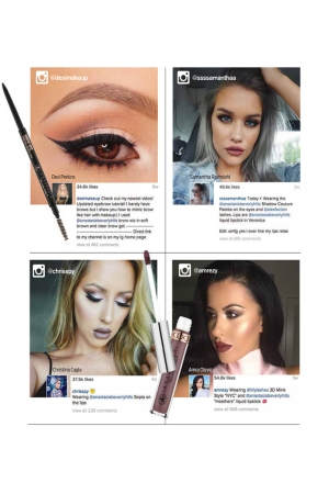 Four key Instagram influencers who have helped propel Anastasia Beverly Hills to a prime spot on the social media platform.