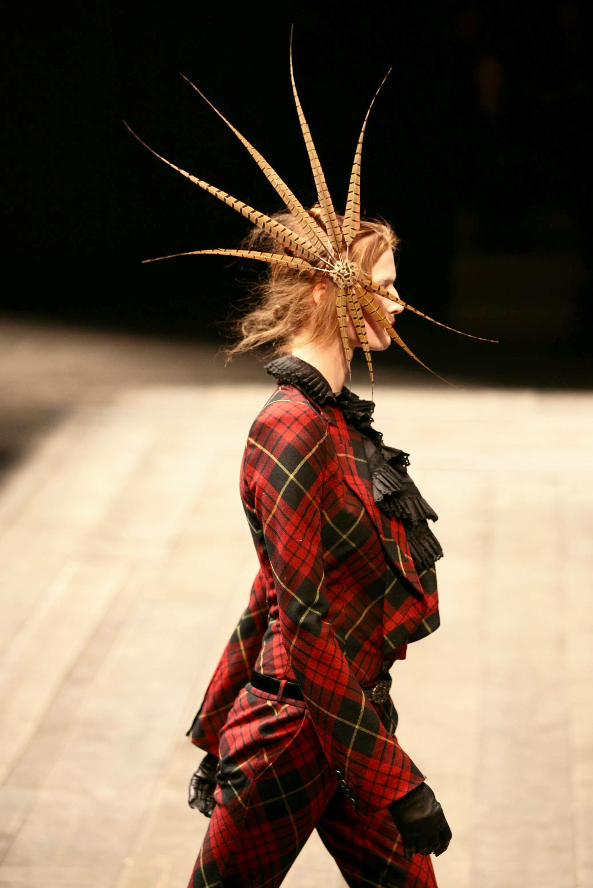 Alexander McQueen's fall 2006 runway show