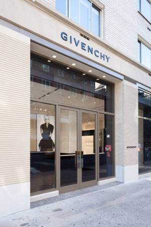 new Givenchy store at 747 Madison Avenue