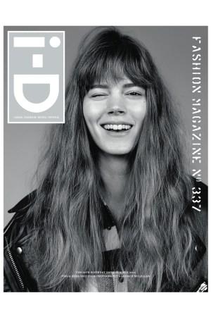 Freja Beha Erichsen on the cover of i-D