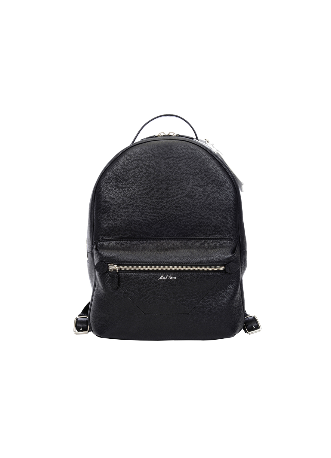 Black backpack from Mark Cross