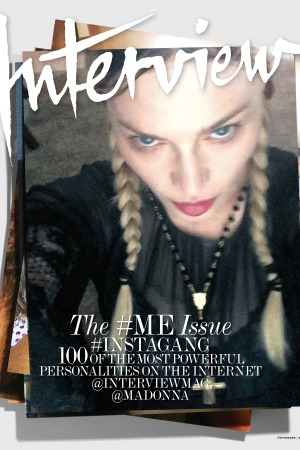 Madonna for Interview's September issue.