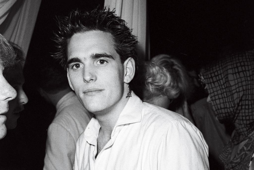 Matt Dillon at The Palladium, May 1985.