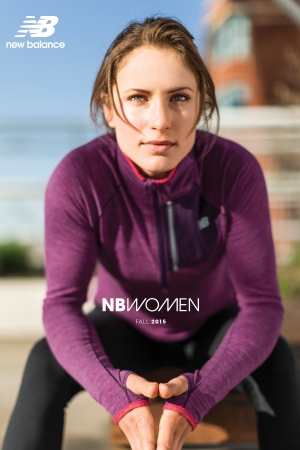 New Balance's first catalogue for women